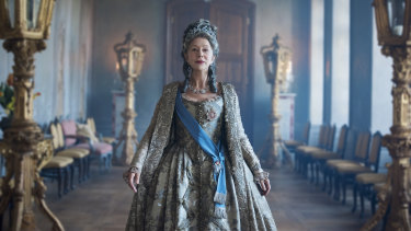 Helen Mirren as Catherine The Great in a new mini-series on Fox Showcase.
