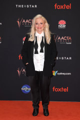 Jackie Weaver at the 2019 AACTA Awards.