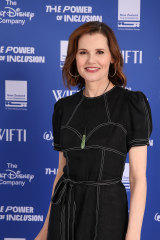 Actor and equality activist Geena Davis at The Power of Inclusion Summit in Auckland.