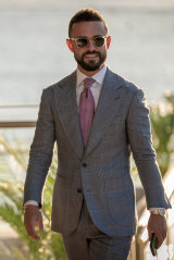With more than 200 suits, Sydney agent Gavin Rubinstein is becoming an amateur fashion influencer.