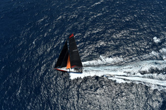 Comanche took the lead over InfoTrack as the field makes its way down the coast.
