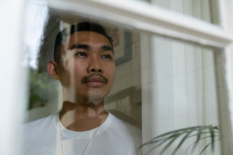 Jimmy Chen was diagnosed with HIV since moving to Australia six years ago from Taiwan.