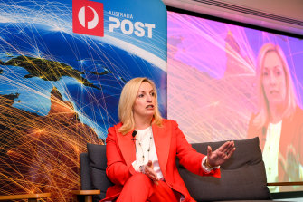 Australia Post CEO Christine Holgate had warned regional post offices could close if stamp prices weren't increased.
