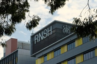 There's a shortage of staff at Royal North Shore Hospital in St Leonards.