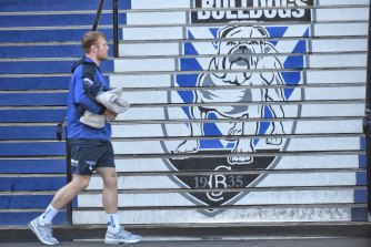 Welcome to Belmore ... Luke Thompson arrives at Canterbury for the first time on Tuesday.