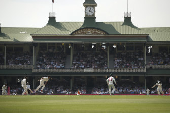 The SCG will be at 25 per cent capacity for this week's third Test.