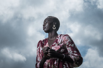 The loneliness that came with lockdown gave Nyadol Nyuon a chance to reflect on her life.
