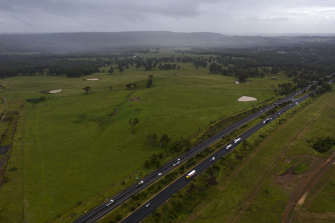 Landcom agreed to pay $258 million for the land at North Wilton which borders the Hume Highway.