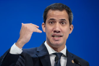 Juan Guaido, opposition leader in Venezuela, who is recognised by 50 countries as the interim president.