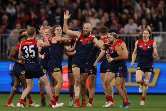 Max Gawn has inspired his teammates all season and is winning hearts in WA.