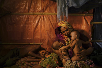 The refugees left the refugee camp in Cox's Bazaar in Bangladesh hoping to find work in Malaysia.