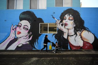 The mural that's dividing opinion in the Shire.
