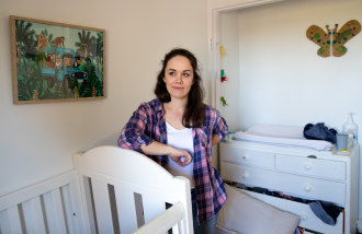 Rebecca Topp has booked a Pfizer vaccine for November – five months after she started looking.