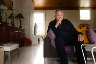 Barassi was invited to this year's grand final in Perth, but quarantine protocols made it impracticable.