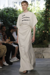 'Are clothes modern?' pondered Maria Grazia Chiuri at Dior's Paris Couture Week show.