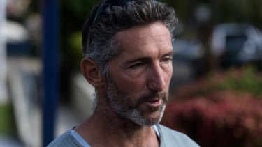 Aaron Cockman, the grief-stricken father of four children who were shot dead on a West Australian farm on Friday.
