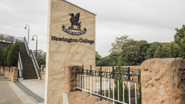 Newington College has banned mobile phone use during school hours