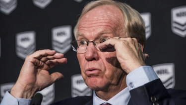 Pulling strings: Peter Beattie has led the charge to introduce the no-fault stand down rule.