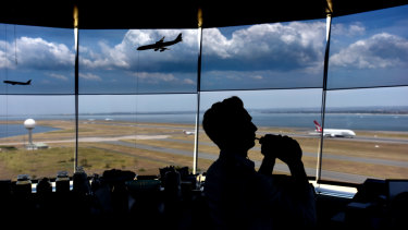 Overtime hours at Sydney Airport's control tower have blown out over the past three years.