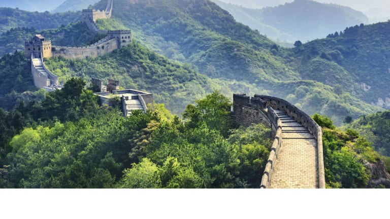 The Great Wall of China lodged China in Edmund Capon's psyche as a boy.