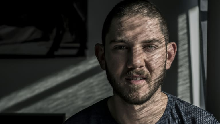 Cancer survivor Ben Smith is lucky to be alive.