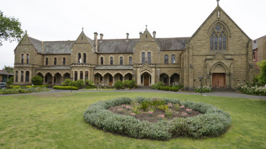 The grounds of Presentation College Windsor, which plans to close in 2020.