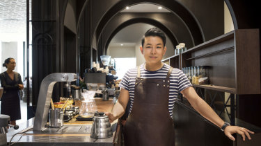 Calvin Leung is the owner of Plantation Coffee.
