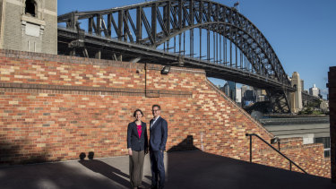 Anthea Hammon and fellow director and brother David Hammon plan to make the Harbour Bridge more accessible.