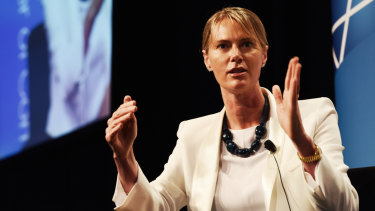 Maile Carnegie was appointed group executive for digitaland Australia transformation