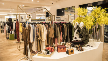 David Jones unveiled its third floor womenswear designer floor on Friday.