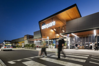 CS Square, in Melbourne's west, has three supermarkets. A Kmart is coming as well.