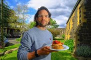 Dr Sandro Demaio and his Solidarity Pancakes