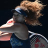 Embracing the big moments takes Osaka, Brady into women's final