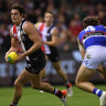 Caretaker Ratten's Saints run rampant over the Dogs