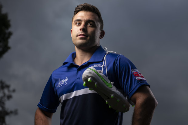 Schoolteacher Bradley Deitz will make his NRL debut for Canterbury in the round one match against Newcastle on Friday.