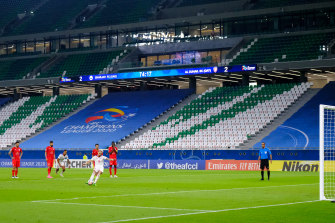 The AFC Champions League is being completed in Qatar, the worst-hit country in the Middle East by the pandemic.