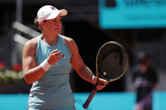 Ash Barty has won again in Madrid.