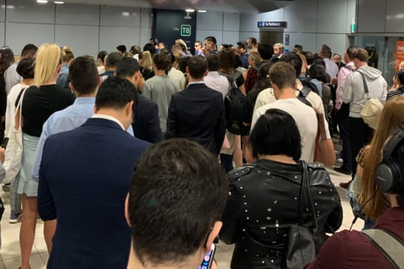 Passengers at one Sydney station nearly double in three years