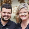 Mitch and Melissa Goffin of Red Gum BBQ.
