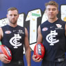 Cripps and Docherty named Carlton co-captains in club first