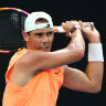 Nadal trains away from public eye as intrigue builds