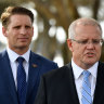 China's ban on Liberal MPs Hastie, Paterson 'very disappointing': Morrison