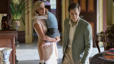 Marta Dusseldorp and David Berry in A Place To Call Home.