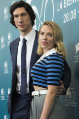 Adam Driver and Scarlett Johansson will have plenty of nervous couples in the audiences of Marriage Story.