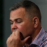 Broncos coach Anthony Seibold has promised to take the blame for the record loss.