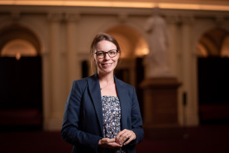 """Mildura MP Ali Cupper says women are fulfilling their """"natural destinies"""" by entering politics."""