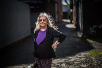 Denise Morgan now lives in a nice place in inner Melbourne.