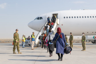 Australian forces evacuated more than 4000 people from Afghanistan last month but thousands are still waiting for visas to be processed.
