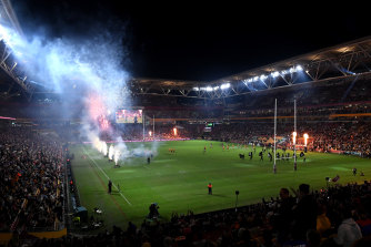 Suncorp Stadium welcomes both interstate visitors and locals alike for Magic Round.