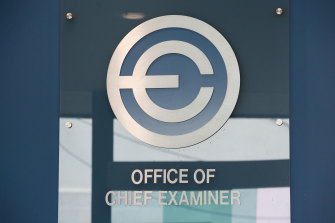 The chief examiner's office is non-descript but infamous in the underworld.